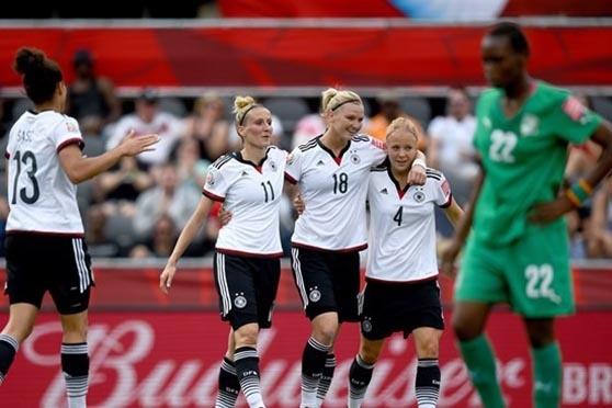 Alemanha 10 - 0 Costa do Marfim