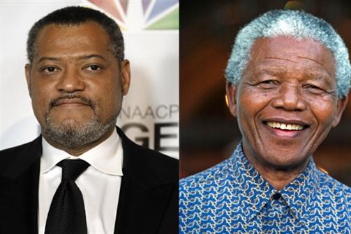 "Laurence Fishburne será Nelson Mandela em ""Madiba"""