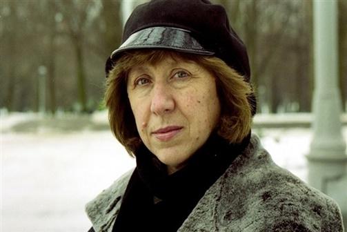 Svetlana Alexievich é o Prémio Nobel da Literatura 2015