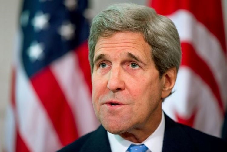 Kerry a favor do acolhimento de refugiados sírios