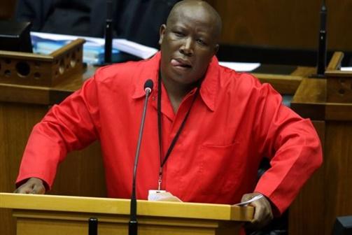 Julius Malema exige afastamento de Jacob Zuma