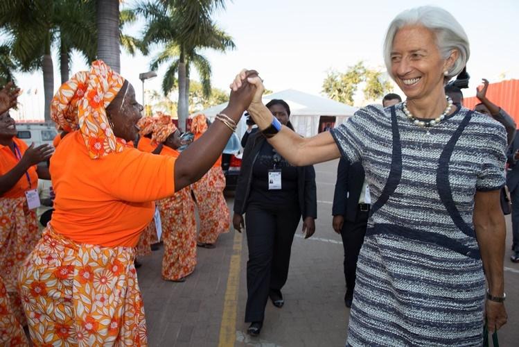 Lagarde atribui suspensão de programa do FMI em Moçambique a corrupção escondida