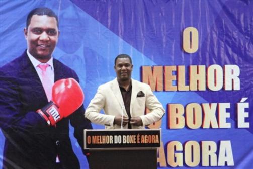 Gabriel Júnior eleito presidente da Federação de Boxe