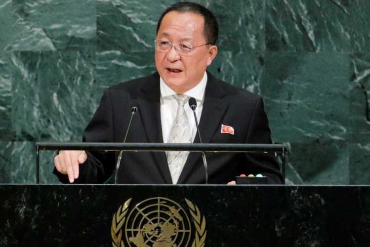 """Ministro norte-coreano diz que ataque contra os EUA é """"inevitável"""""""