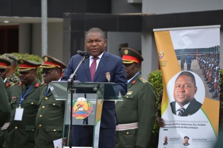PR diz que processo de paz está a ter resultados