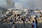 Duplo atentado em Mogadíscio faz 230 mortos