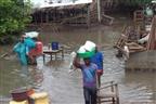 Cerca de 15 mil casas destruídas devido às chuvas na zona Norte