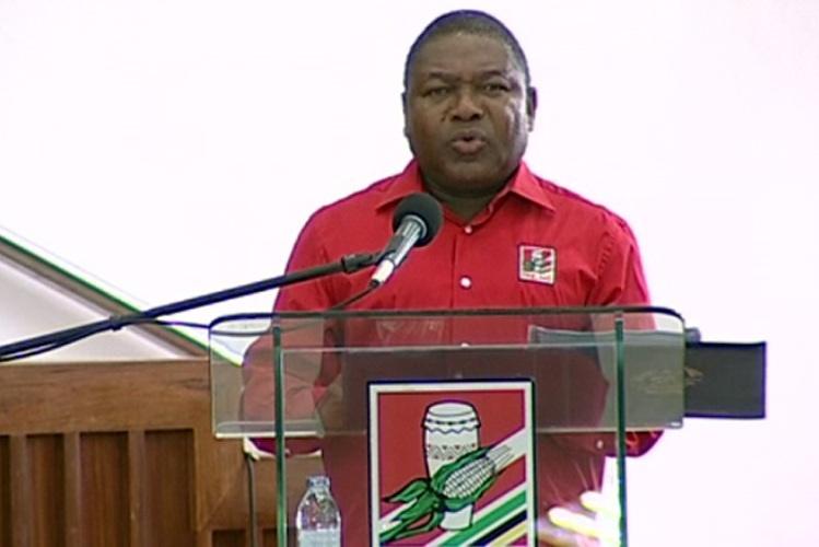 """""""É chegado o momento de a Frelimo afirmar-se como partido moderno"""" Nyusi"""