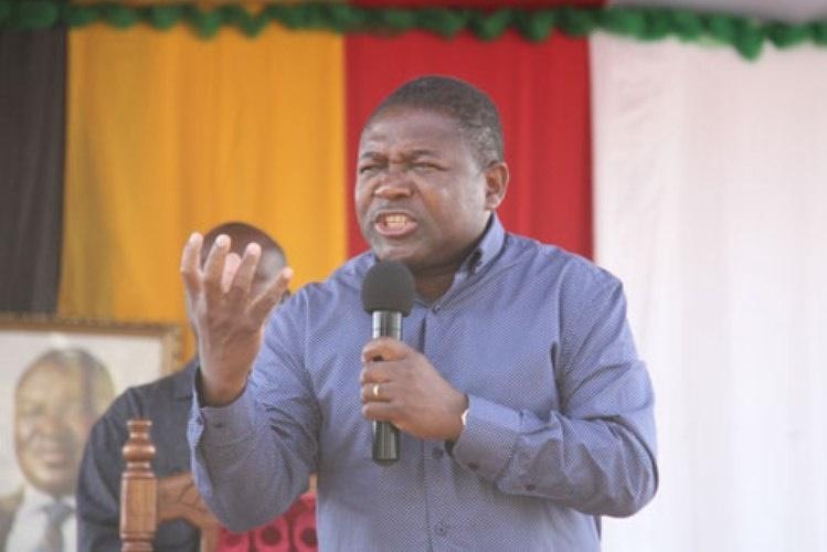 """""""O Governo vai continuar a fazer de tudo para que a paz seja efectiva"""" Nyusi"""
