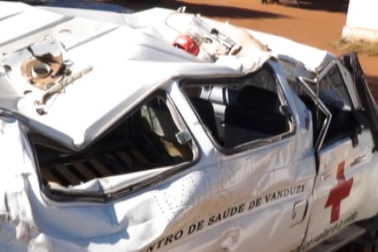 Detido motorista de ambulância que capotou e matou duas pessoas