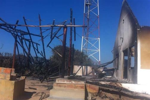 Curto-circuito causa incêndio em estâncias turísticas na Praia da Barra