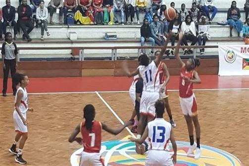 Moçambique soma segunda vitória no Afrobasket sub-18