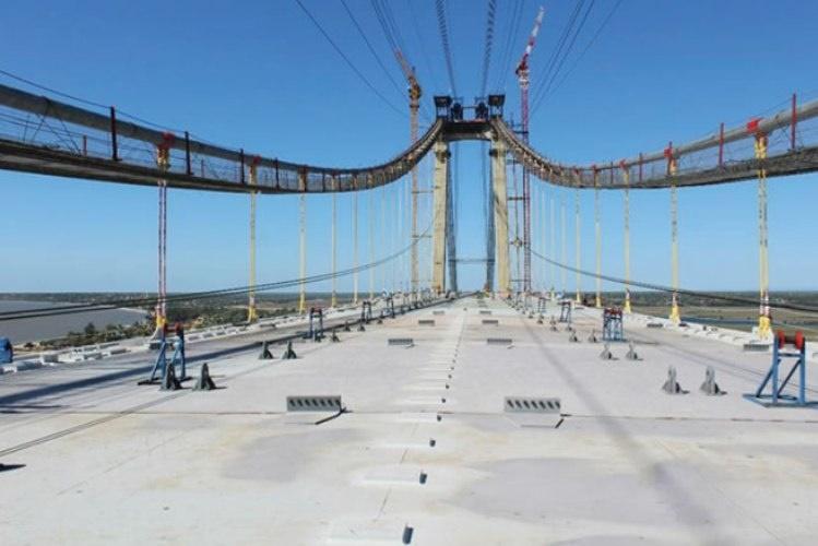 Ponte Maputo-Katembe estará pronta até finais de Outubro