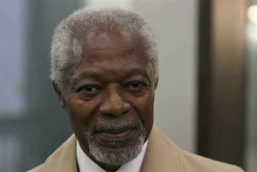 Morreu Kofi Annan