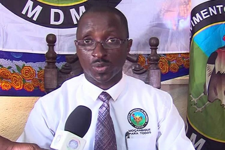 MDM acusa Renamo de usar nome de Simango como cabeça-de-lista na Beira