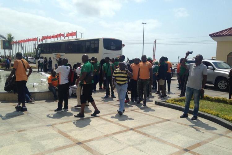 Adeptos zambianos já estão em Maputo