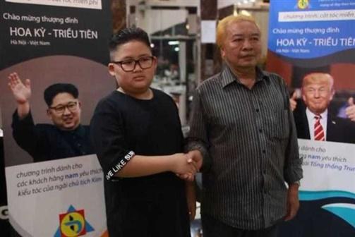 Barbearia faz cortes de cabelo grátis iguais a Trump e Kim Jong-Un