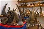 Polícia sul-africana apreende 100 chifres de rinoceronte