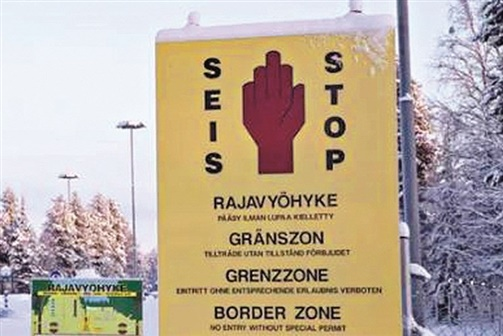 Russo detido por construir posto de fronteira falso