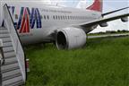 Excesso de velocidade e chuva podem ser causas do despiste do Boeing da LAM