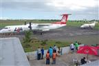 Começa retirada dos residentes no aeródromo de Inhambane