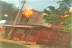 Incêndio destrói residência na Mafalala