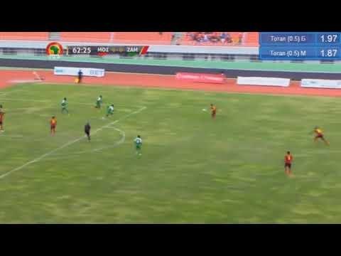 Golo dos Mambas diante da Zambia