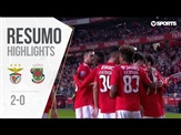 Highlights | Resumo: Benfica 2-0 P. Ferreira (Allianz Cup #2)
