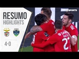 Highlights | Resumo: Benfica 4-0 Chaves (Liga 18/19 #23)