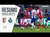 Highlights | Resumo: Braga 1-1 FC Porto (Taça de Portugal 18/19 1/2 Final)