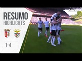 Highlights | Resumo: Sp. Braga 1-4 Benfica (Liga 18/19 #31)