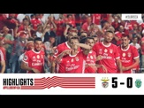 HIGHLIGHTS: SL Benfica 5-0 Sporting CP