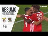 Highlights | Resumo: Benfica 5-0 Paços de Ferreira (Liga 19/20 #1)