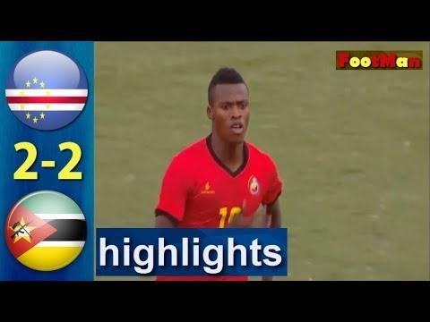 mozambique vs cape verde 2-2 all goals full highlights 2019/11/18