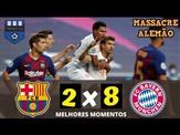 🔴 BAYERN HUMILHA O BARÇA ⚽ Barcelona 2 x 8 Bayern de Munique ⚽ Gols & Melhores Momentos ⚽ COMPLETO ⚽