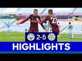Fantastic Foxes Earn Momentous Win At Etihad Stadium   Manchester City 2 Leicester City 5   2020/21