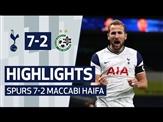 HIGHLIGHTS   SPURS 7-2 MACCABI HAIFA   Harry Kane hat-trick!