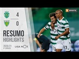 Highlights | Resumo: Sporting 4-0 Tondela (Liga 20/21 #6)