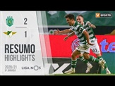 Highlights | Resumo: Sporting 2-1 Moreirense (Liga 20/21 #8)
