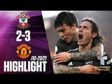 Highlights & Goals | Southampton vs. Man United 2-3 | Telemundo Deportes