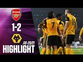 Highlights & Goals | Arsenal vs. Wolverhampton 1-2 | Telemundo Deportes