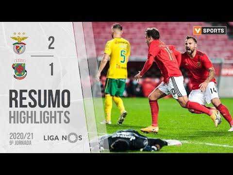 Highlights | Resumo: Benfica 2-1 Paços de Ferreira (Liga 20/21 #9)