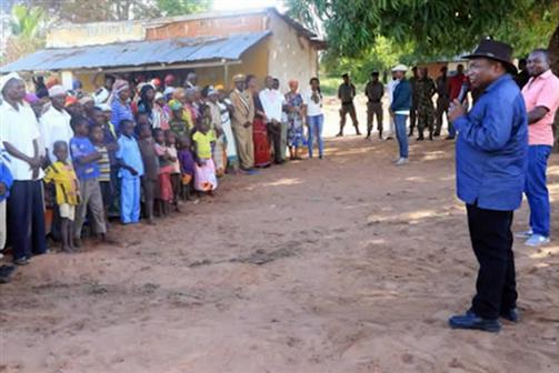 PR Nyusi recebe declaração de solidariedade sobre Cabo Delgado