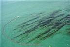 Derrame de combustível na baía de Pemba