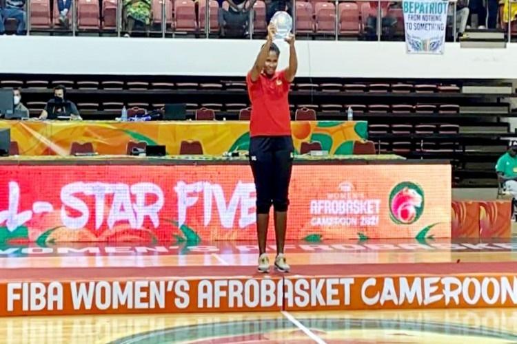 Tamara Seda é melhor ressaltadora do Afrobasket 2021
